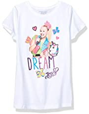 JoJo Siwa Girls J6SS157-3710 Dream & Unicorns Short Sleeve Tee Short Sleeve T-Shirt