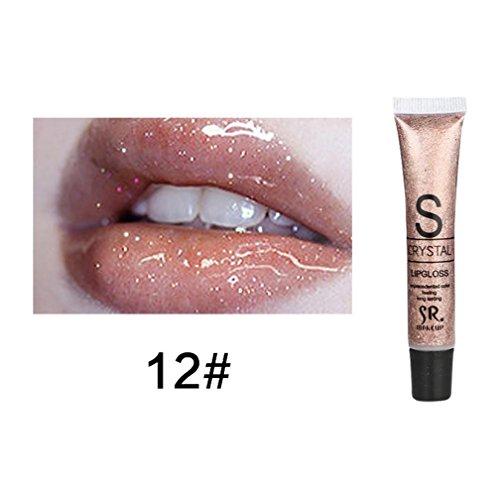 Lipstick Set,Putars Fashion Sexy Candy Color Lip Gloss Water