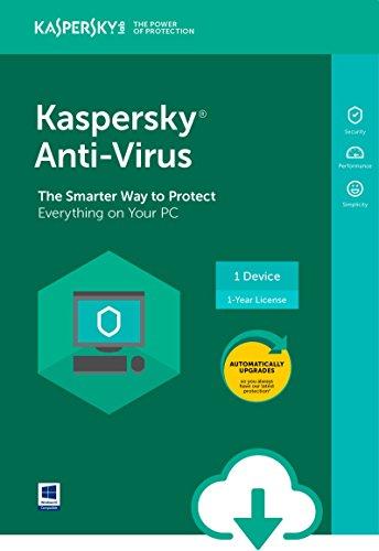 Kaspersky Anti-Virus 2018 | 1 Device | 1 Year [PC Download] by Kaspersky
