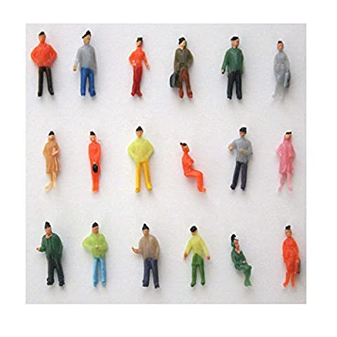 1:75 Scale OO Gauge Hand Painted Layout Model Train People Figure - Hand Painted Train Toy