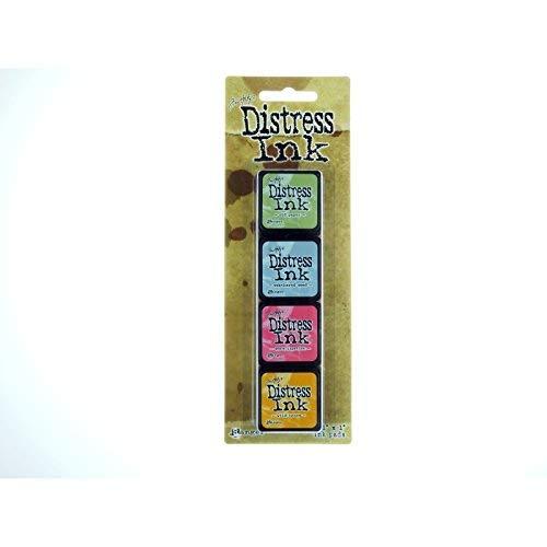 Ranger Distress Mini Ink Kit, -