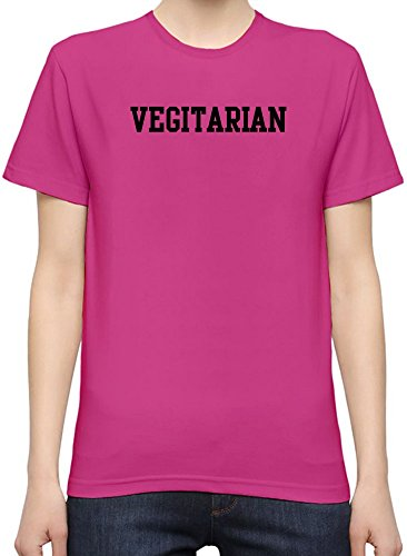 Vegitarian Funny Slogan WomenÕs Personalized T-Shirt| Custom -Printed Tee| 100% Superior Quality Soft Cotton| Premium Quality DTG Printing| Unique Clothing For Women By Byronz Clothing X-Large