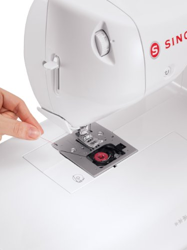 SINGER   ONE Vintage-Style Computerized Sewing Machine including 24 Built-in Stitches, Automatic Needle Threader, Extra-Large Sewing Space, Drop & Sew Bobbin System, Best Sewing Machine for Beginners