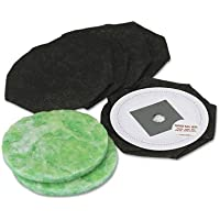 DataVac TBF7C Replacement Bags for Pro Cleaning Systems, 5/Pack