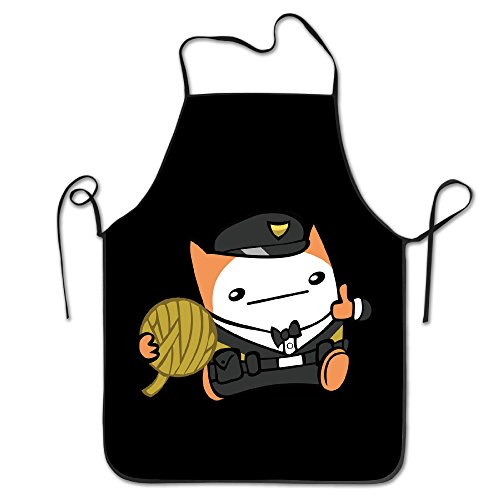 [BattleBlock Theater Cat Kitchen Aprons For Women Men] (Toddler Gardener Costume)
