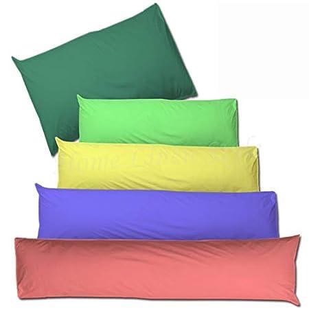 Home Linen Style Bolster Pillow Case Cover 180tc Super King
