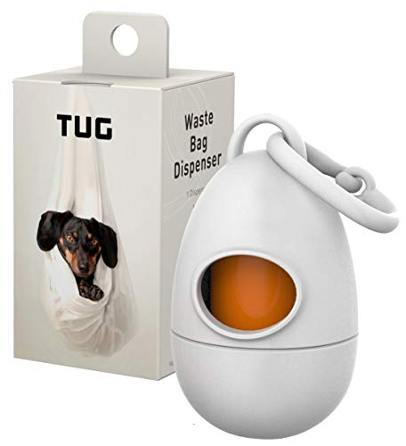 TUG Dog Poop Waste Bags, Strong and Leak-Proof, 15 Bags Per Roll with EPI Additives