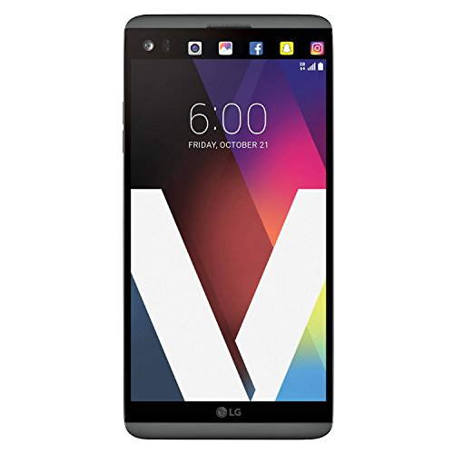 LG V20 64GB Unlocked Smartphone for all GSM Carriers w/ Dual Rear Cameras (16MP+8MP) - Titan - Lg Phone With Hotspot