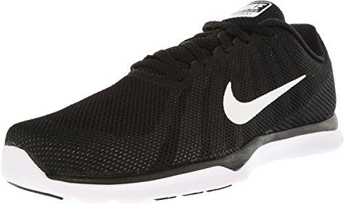 Nike Women's In-Season TR 6 Cross Training Shoe, Black/White/Stealth/Cool Grey, 8.5 B(M) US