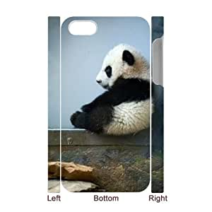 DDOUGS Cute Panda Brand New Cell Phone Case for Iphone 4,4S, DIY Iphone 4,4S Case