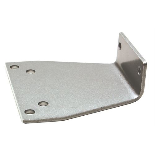Global Door Controls PAB-1245-AL Parallel Arm Bracket For Tc200/400/500 Series Door Closers In Aluminum,
