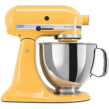 Amazon Com Kitchenaid Rrk150bf 5 Qt Artisan Series