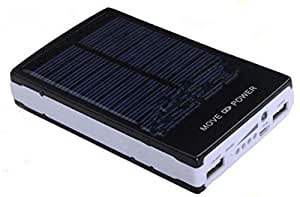 black color 30000mah solar energy power banK for ipad,galaxy tab,Iphone,Samsung,Htc,mp4,
