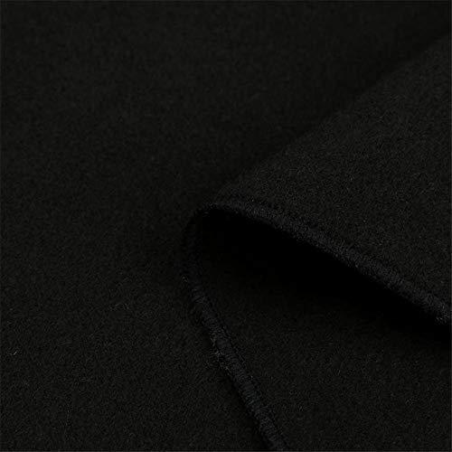 Zezkt Revers Soiree Gilet Parka Long Chaud Manteau Doudoune Coupe De Ouverts Élégant Noir Tranchée Pardessus Boléro Blazer Blouson Veste Laine Cardigan vent Outwear Avant En Pull Femme D'hiver rrdw84