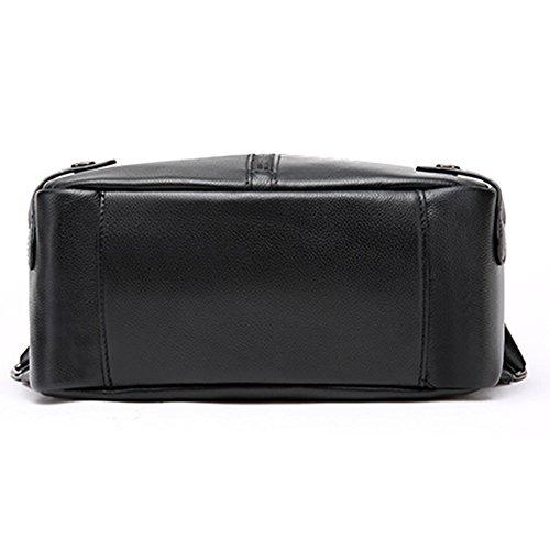 Leather Smooth Valin Bag Womens Backpack Medium Black 7Uq6wBx5v6