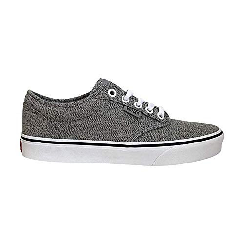 Vans Men's Atwood Low-Top Sneakers ((Static Heather) Gray/White, 10.5 M US Women / 9 M US Men)