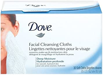 Dove deep moisture creamy facial cleanser