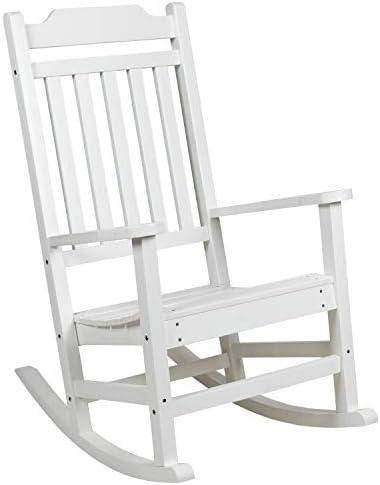 Best outdoor rocking chair: Flash Furniture Winston All-Weather Rocking Chair
