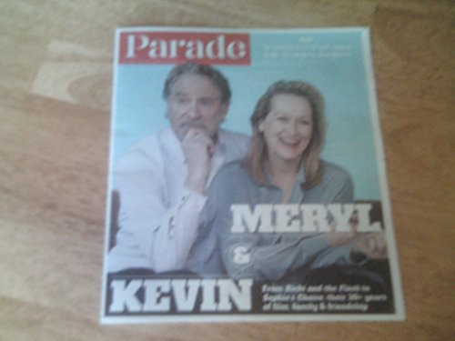 Parade magazine, July 26, 2015-Meryl Streep & Kevin Kline stars of Ricki & the Flash on cover & Bugs Bunny's 75th Birthday -