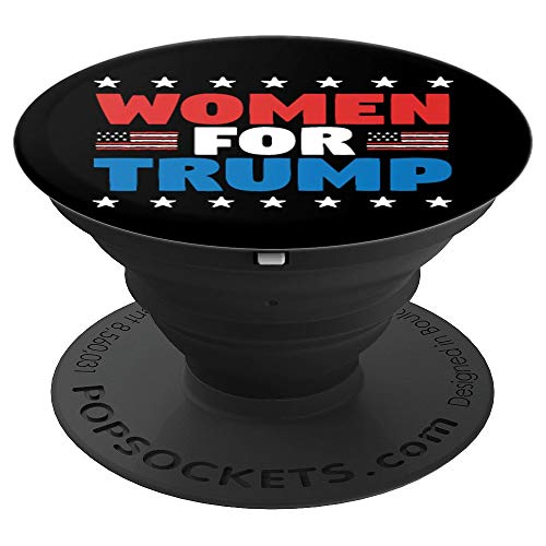 (Women For Trump Republican Conservative Gift - PopSockets Grip and Stand for Phones and Tablets)