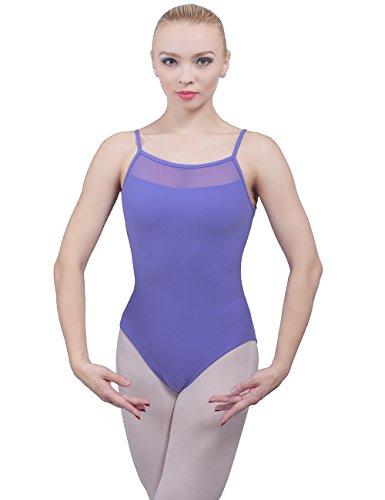 Dance Favourite Women's Camisole Leotards AM01056 (S, - Bra Lined Leotard