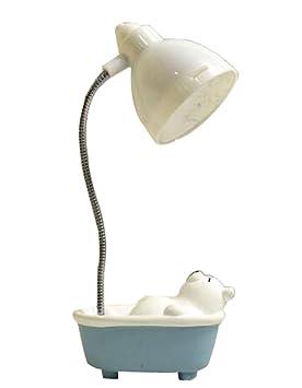 Oso blanco lindo lámpara de escritorio barata Dormitorio ...