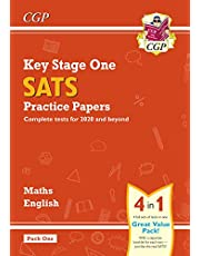 New KS1 Maths and English SATS Practice Papers Pack (for the 2020 tests) - Pack 1 (CGP KS1 SATs Practice Papers)