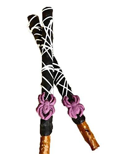 Spider, Halloween, Chocolate Covered Pretzel Sticks