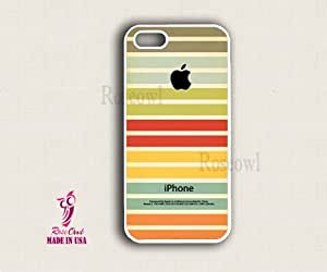 Iphone 5 case, Iphone 5 cover, Iphone 5 cases - Multi color stripes apple iph...
