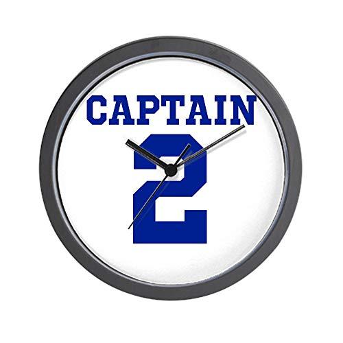 "CafePress Captain #2 Derek Jeter Yankees Unique Decorative 10"" Wall Clock"