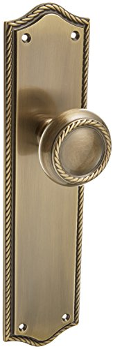 Baldwin Hardware 6554.050.FD Barclay Knob Entrance Front Door (Mortise Entrance Style)