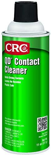 (CRC 03130CS CRC QD Contact Cleaner 11 WT oz, 16 fl. oz, Aerosol (Pack of 12))