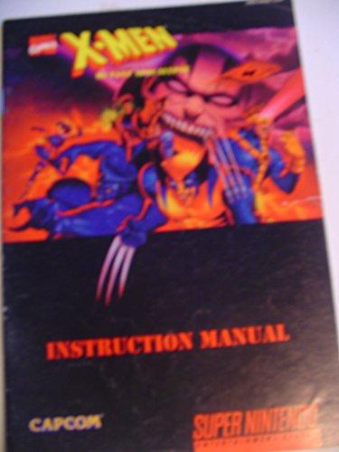 X-Men - Mutant Apocalypse SNES Instruction Booklet (Super Nintendo Manual Only) (Super Nintendo Manual)