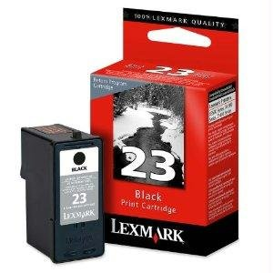 LEXMARK Ink #23 X3550 X4530 X4550 X5070 X5370 Z1420 - Black Return Program 18C1523