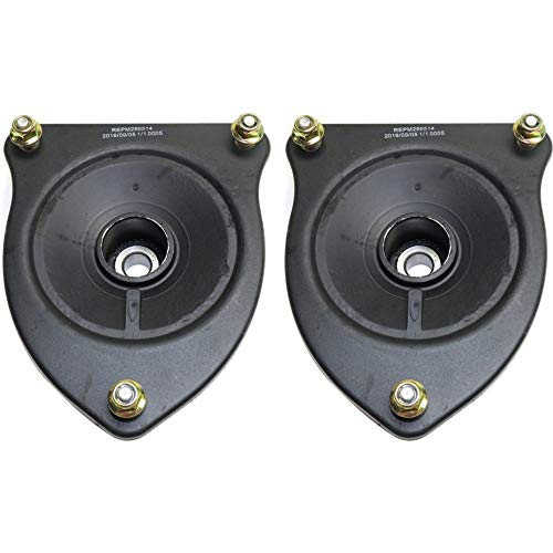 Shock Set Mini - Shock and Strut Mount Set of 2 for 2002-2006 Mini Cooper Front Left and Right Side