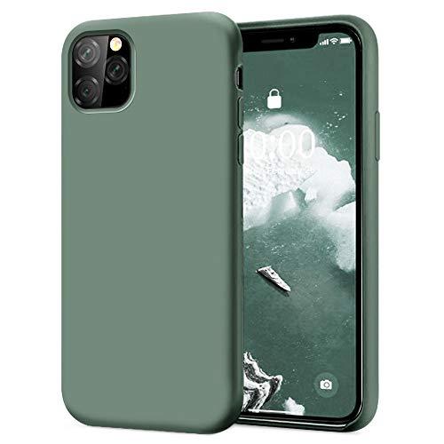 KUMEEK iPhone 11 Pro Max Case, Soft Silicone Gel Rubber Bumper Case Anti-Scratch Microfiber Lining Hard Shell Shockproof…