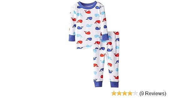 b8147f35329b Amazon.com  New Jammies Baby Boys  Whales Organic Pajama  Infant And ...