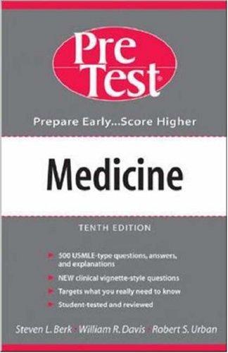 Medicine: PreTest Self-Assessment and Review (PreTest Series)