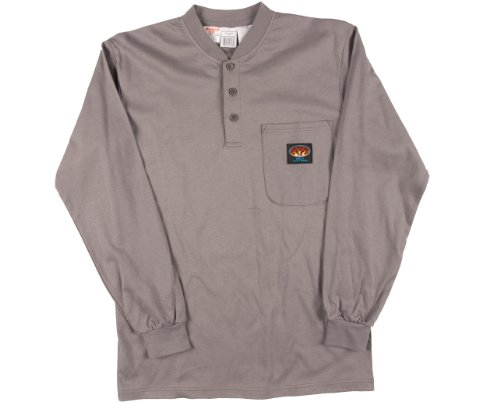 Rasco Fire Retardant T Shirt GRAY 100% Cotton, Gray, XX-Large