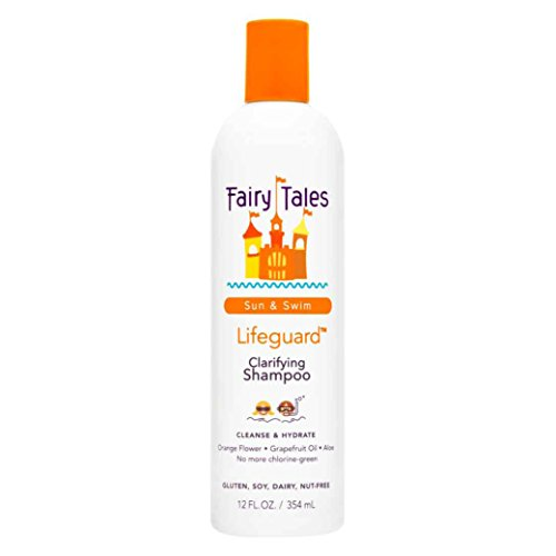 Fairy Tales Sun & Swim Lifeguard Clarifying Shampoo - Daily Kid Summer Shampoo - 12 oz by Fairy Tales