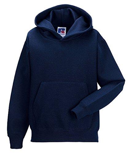 Kids Children's Hooded Sweatshirt Plain Hoodie Jumper School Uniform Girls Boys