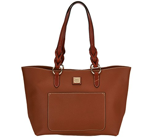 NEW AUTHENTIC DOONEY & BOURKE PAMMY LEATHER SHOULDER HANDBAG TOTE (Desert/Brown) by Dooney & Bourke
