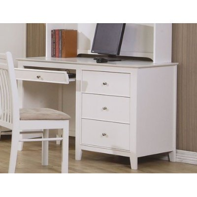 Computer-Desk-Cape-Cod-Style-in-White-Finish