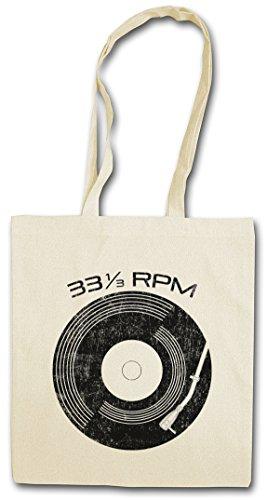 VINYL 33? RPM HIPSTER BAG – disque Club Disco Retro Music Plattenspieler Phonograph record player turntable DJ MC Record Collector Disc Mint Retro Addiction