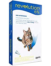 Revolution 6% Azul, Bis 45mg 0,75ml Gatos Zoetis para Gatos