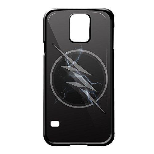 amazon com the flash zoom logo for samsung galaxy s5 black case