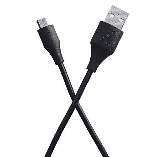 iBall IB-Micro 1.2M USB Charge & Data Sync Cable with up to 3.0A Fast Charging (Black)