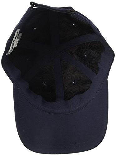 39990c06f Lacoste Men's Sport Polyester Cap with Green Croc, Navy Blue, One ...