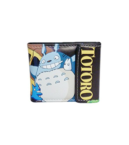 Totoro: Adventure Totoro & Catbus Cute Vinyl Wallet