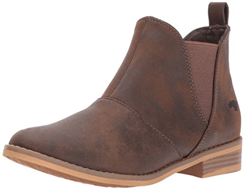 Rocket Dog Women's Maylon 2 Graham PU Ankle Bootie, Brown, 8 M US (Rocket Boot 2)